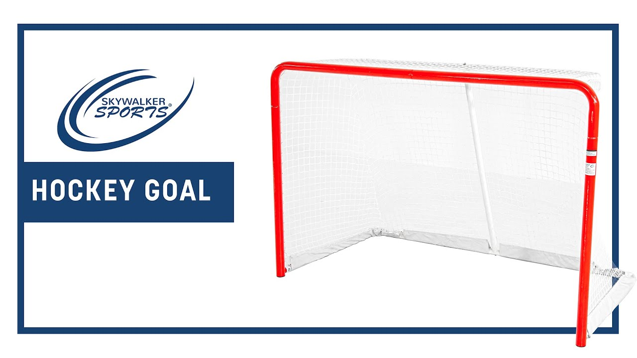 Skywalker Sports 6' x 4' Regulation Size Hockey Goal