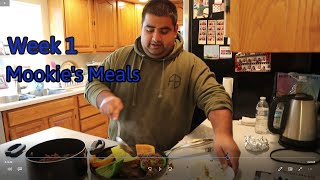 Weight-Loss Journey | Mookie's Meals | WEEK 1