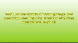 Garage Storage Racks - Planning Your Shelves For Home Garage Use