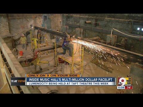 Inside look at Music Hall's multimillion-dollar facelift