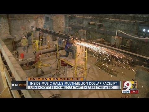 Inside look at Music Hall's multimillion-dollar facelift