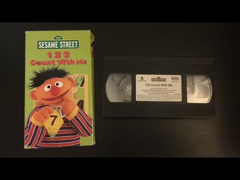 Opening To Sesame Street: 123 Count With Me 1999 VHS (Sesame Workshop Version)