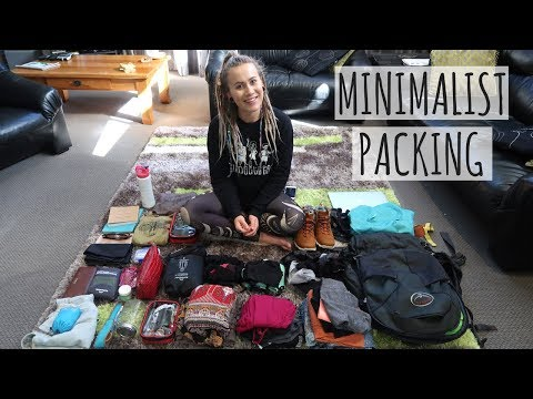 WHAT I PACKED FOR 1+ YEAR OF TRAVEL // MINIMALIST  // OSPREY FARPOINT 40