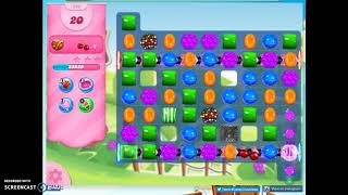 Candy Crush Level 593 Audio Talkthrough, 3 Stars 0 Boosters