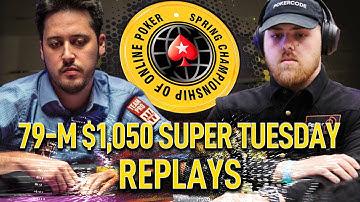 SCOOP 2020 #79-M $1k Amadi_017   IgorKarkarof   DaanOss Final Table Poker Replays