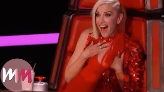 Top 10 The Voice (U.S.) 4-Chair Turns