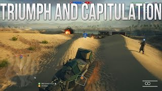 Triumph and Capitulation - PS4 Battlefield 1 Road to Max Rank Ep. 151! (PS4 BF1 Gameplay)