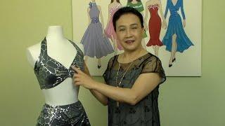 "How to make short tops "" bikini tops & dance tops""  video #25"