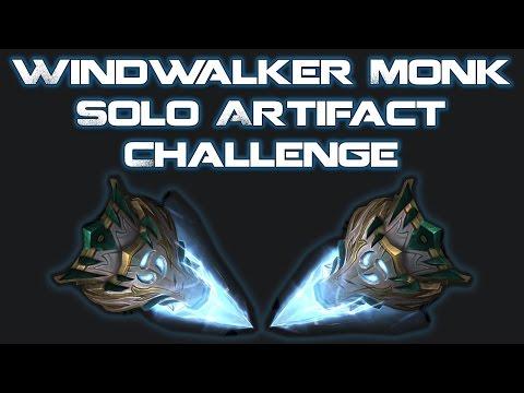 Windwalker Monk - Solo Artifact Challenge - Feltotem's Fall (Mage Tower)