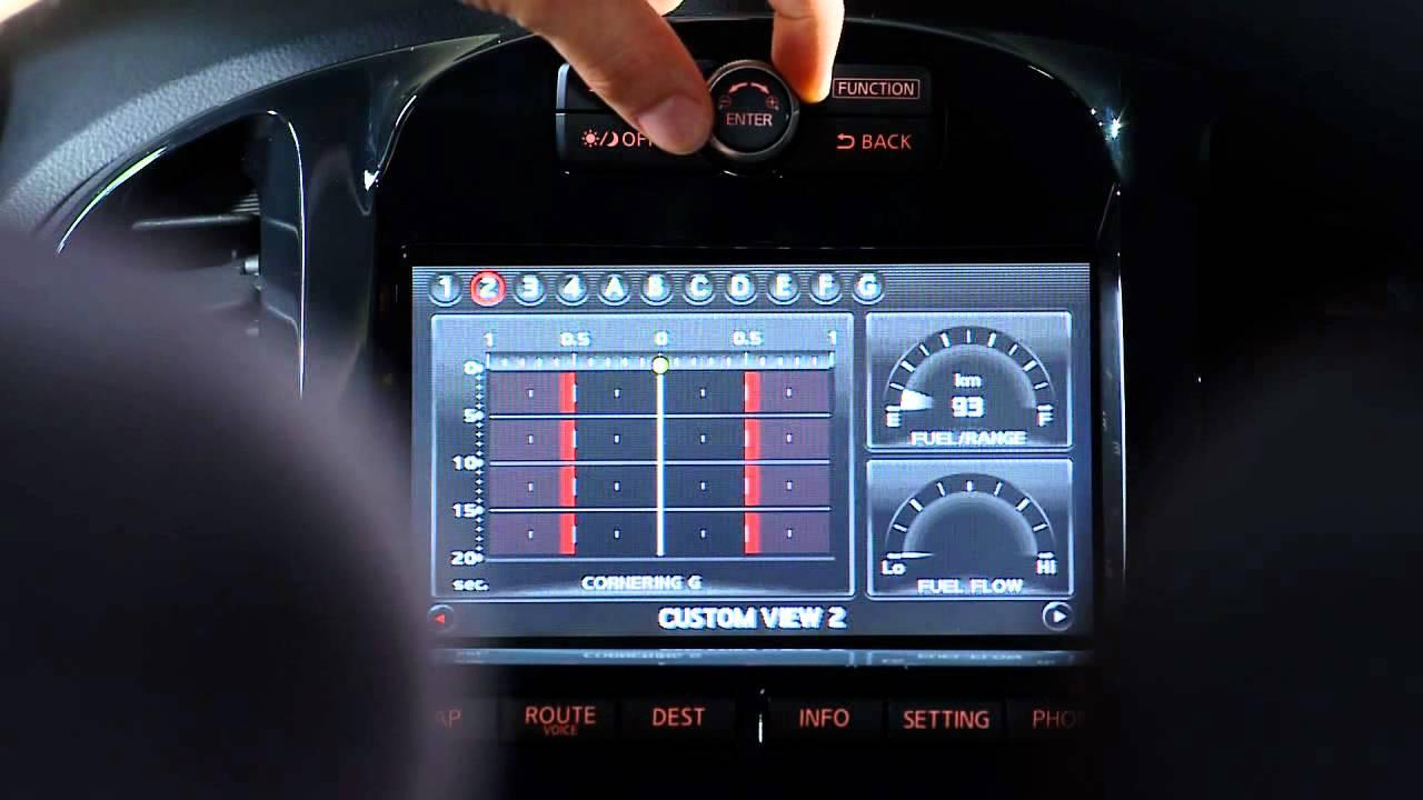 Nissan Juke-R interior - raw footage - YouTube