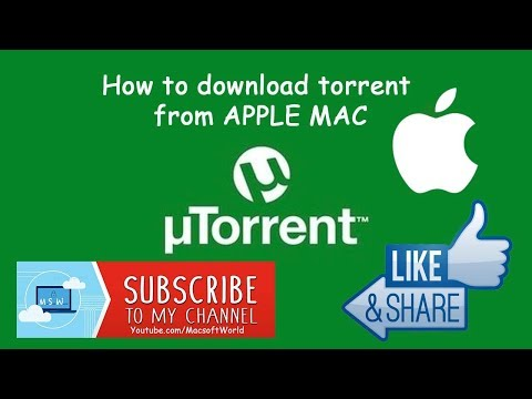 How To Torrent On A Apple Mac 2019 100% Working