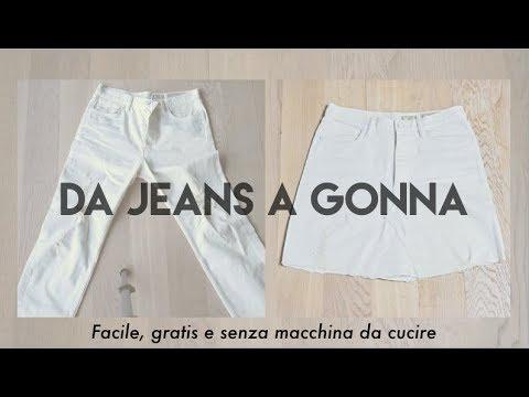 detailed look 6f18a 52990 DA JEANS A GONNA! - DIY facile e gratis