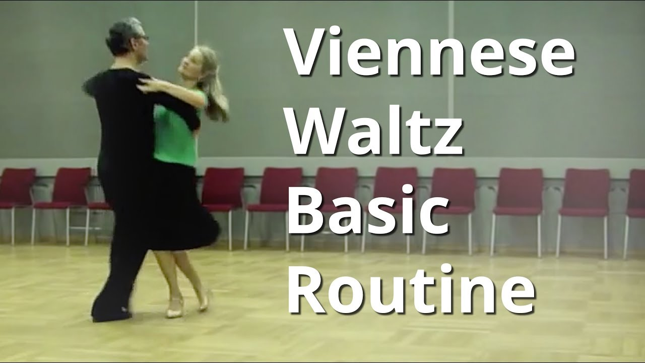 How To Dance Viennese Waltz Basic Routine With Slow Motion Youtube Steps Diagram