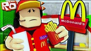 The worst McDonalds Ever!!! - Roblox