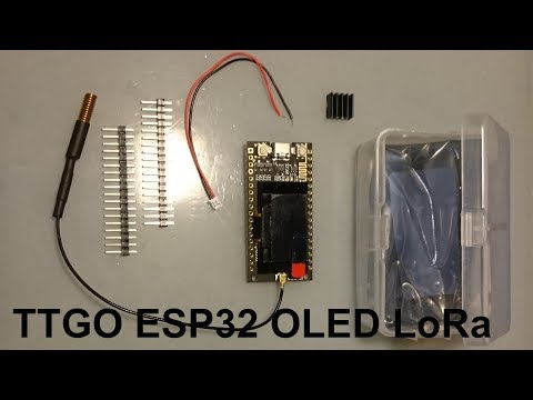 TTGO ESP32 OLED LoRa
