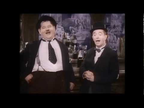Laurel & Hardy ~ \'The trail of The Lonesome Pine\'. (In Colour) - YouTube