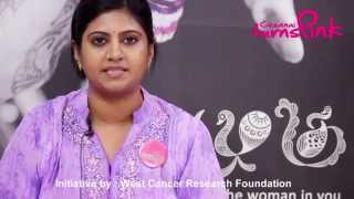 Chennai Turns Pink   Pink Ambassador Mrs Sridevi Ramesh