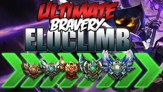 ULTIMATE BRAVERY ELOCLIMB #1 | WTF VEIGAR BUILD - League of Legends