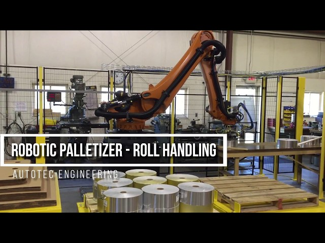Robotic Palletizer - Roll Handling | Autotec Solutions