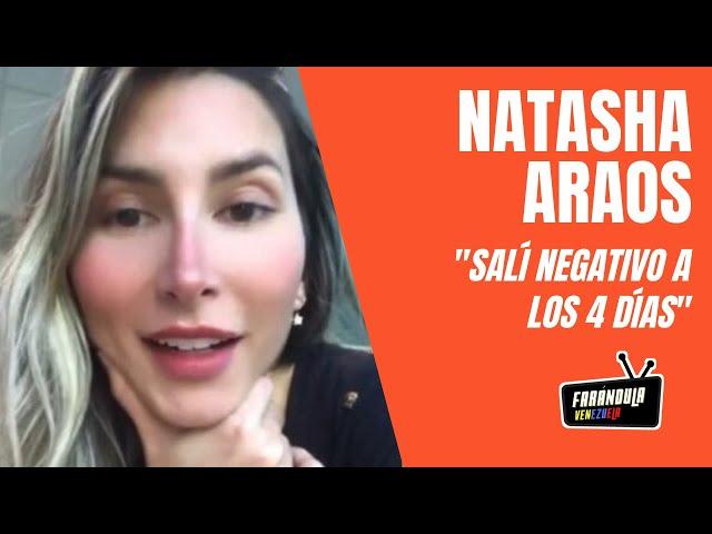 Mira cómo la esposa de Chyno Miranda, Natasha Araos, tuvo COVID y salió negativo a los 4 días 😱