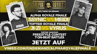 Alpha Royale Finale x TopTier Takeover Berlin 15.02.19 - PPV Trailer