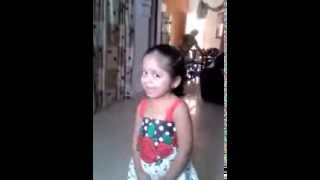 cute tamil girl singing nenjukulle umma song