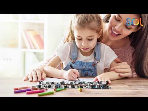 Getting Ready for School - Parents Tips