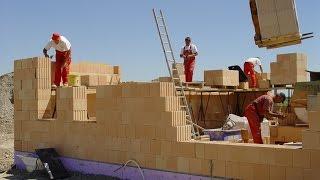 Строительство дома из керамоблоков