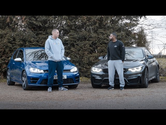 600BHP Golf R vs 525BHP BMW M4