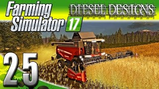 Farming Simulator 2017 Gameplay :EP25: New Harvester! (PC HD Goldcrest Valley)
