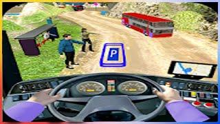 Modern Bus Drive Parking 3D - Gameplay Walkthrough - Mode Easy Parking All Levels screenshot 5