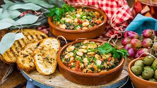Daisy Fuentes' Spanish White Beans with Tomatoes and Onions - Home & Family