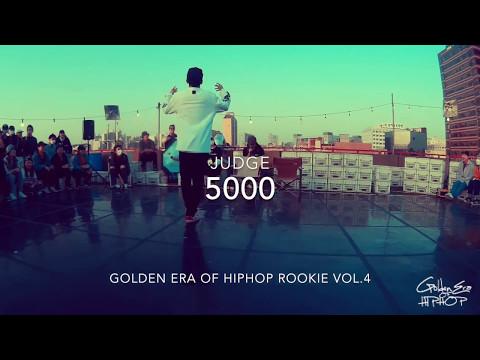 Golden era of hiphop ROOKIE vol.4 ( JUDGE ) 5000