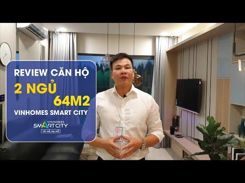 Căn hộ 2 ngủ Vinhomes Smart City Tây Mỗ 64m2 Nhận nhà chỉ 700 triệu