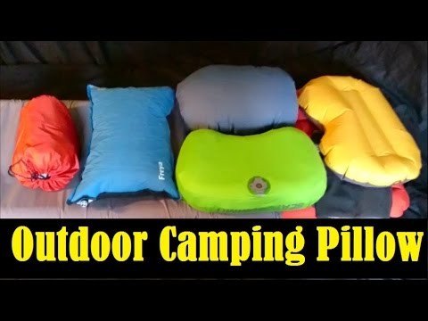 outdoor camping pillow options