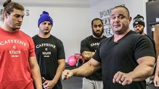 NFL Combine Bench Press Prep with Mark Bell