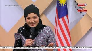 FEEZA SHAARI - CINTA KASIH KITA (LIVE @ SANTAI SELEBRITI SELAMAT PAGI MALAYSIA RTM 1)