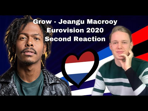 Grow - Jeangu Macrooy I Live Version I Eurovision 2020 - Netherlands I ESC Reaction & Review
