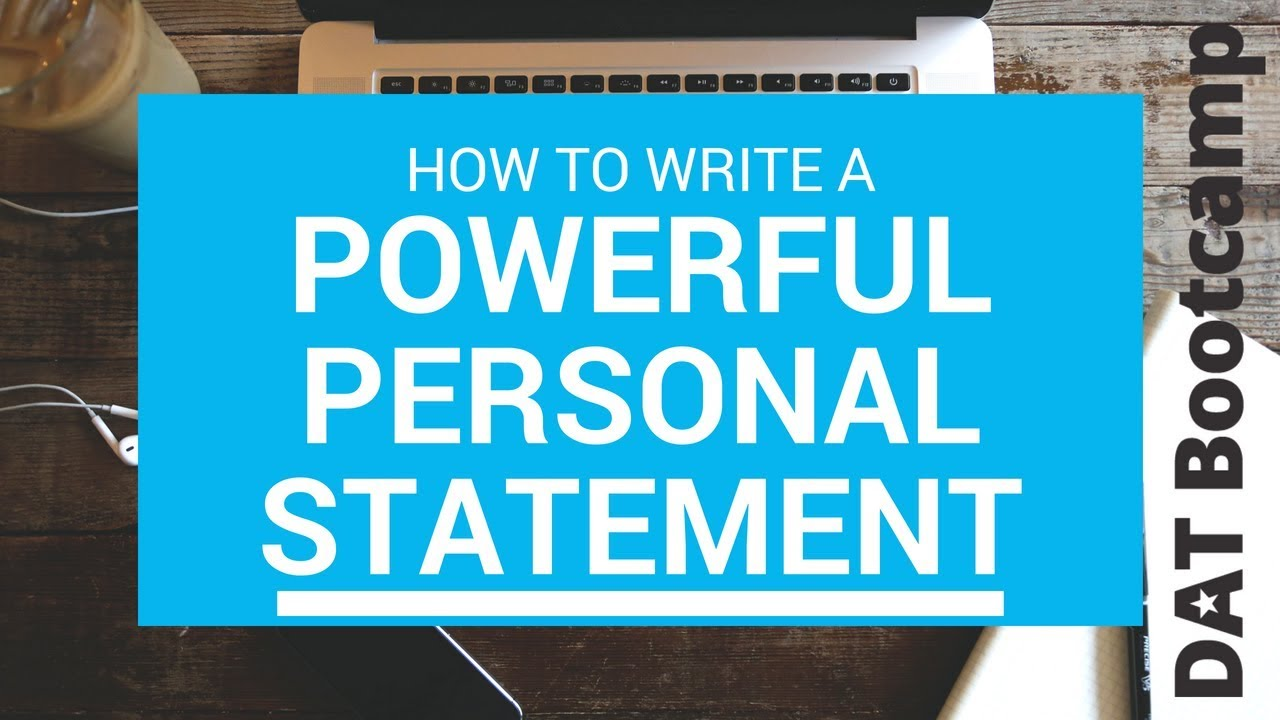 how to write the best personal statement for university