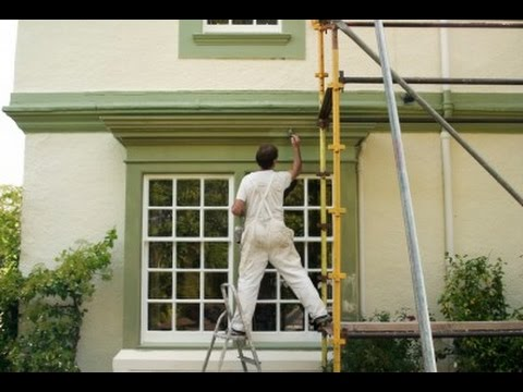 Superior How To Paint A House Fast. House Painting Hacks.