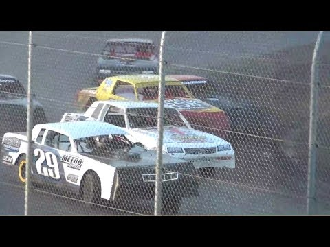 Street Stocks-Trophy Dash,Heats & B-Main @ Willamette Speedway 2018