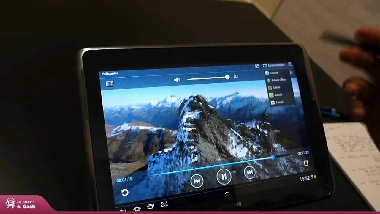 abdf9198c Test   Samsung Galaxy Note 10.1 - YouTube