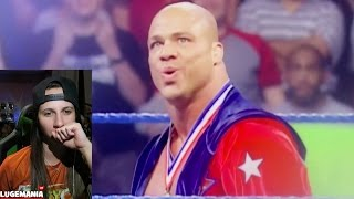 WWE Raw Kurt Angle Hall Of Fame !