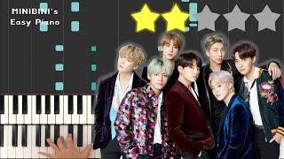 BTS (방탄소년단) - Mikrokosmos (소우주) 《MINIBINI EASY PIANO ♪》 ★★☆☆☆ [Sheet]