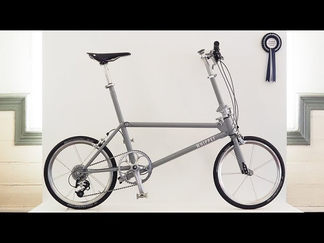 Whippet Is a Slim Folding Bike
