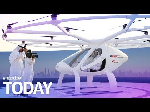 Dubai's flying drone taxi service is lifting off | Engadget