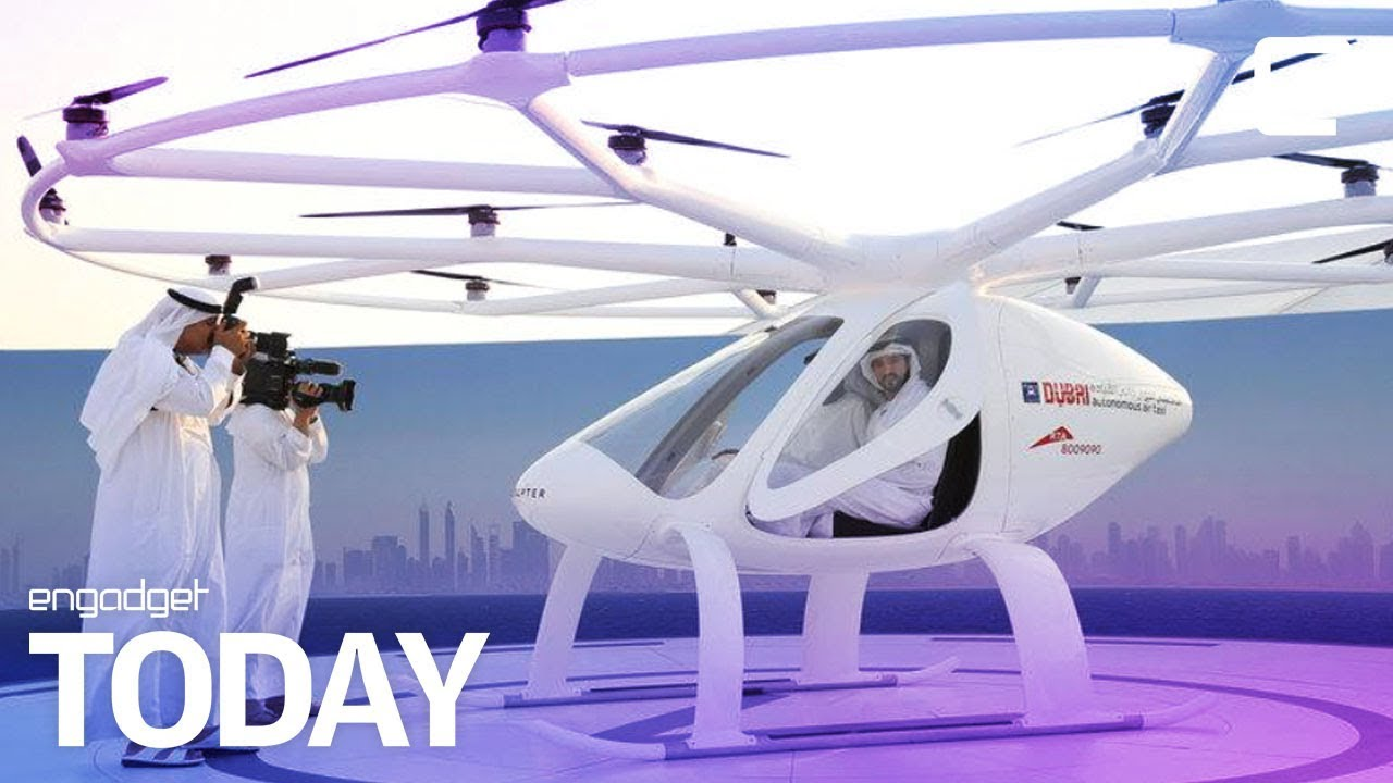Dubai S Flying Drone Taxi Service Is Lifting Off Engadget Today