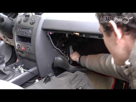 Замена воздушного фильтра салона на Renault Megane II