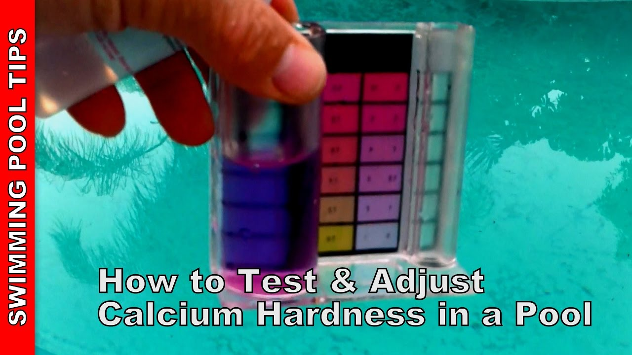 How To Test And Adjust Calcium Hardness In A Pool Doovi