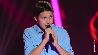 Jamie Sings Breakeven | The Voice Kids Australia 2014